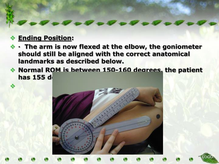 Ending Position