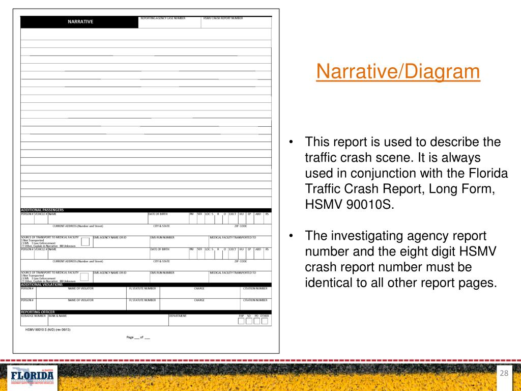 PPT - Commercial Motor Vehicle Crash Record Reporting