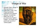 visage of war
