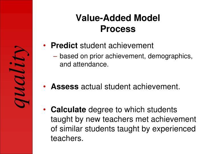 Value-Added Model