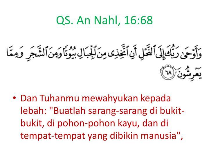 Qs an nahl 16 68