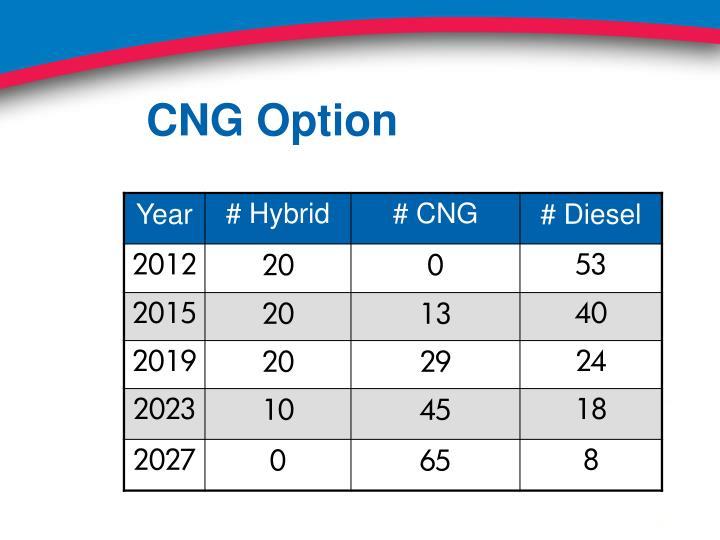 CNG Option