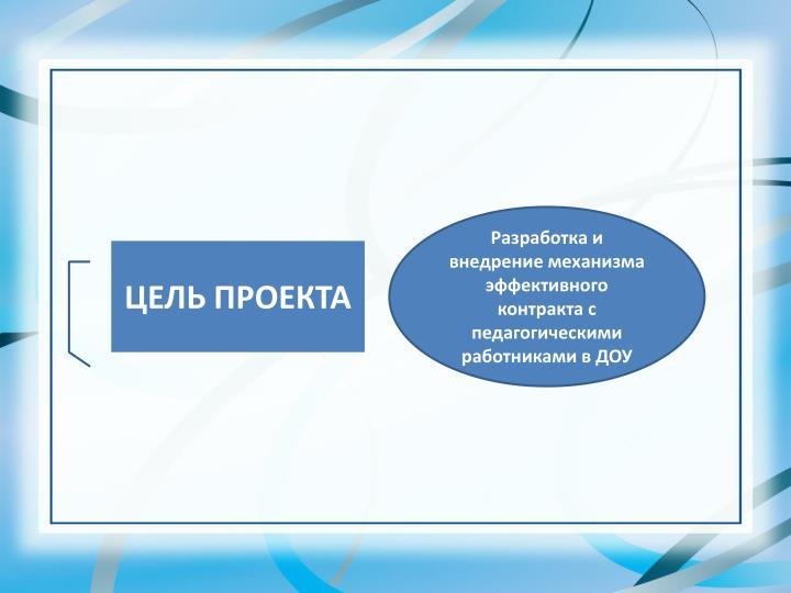 Проверка внедрения эффективного контракта с пед работниками