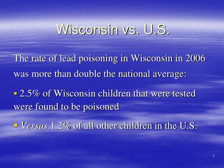 Wisconsin vs. U.S.