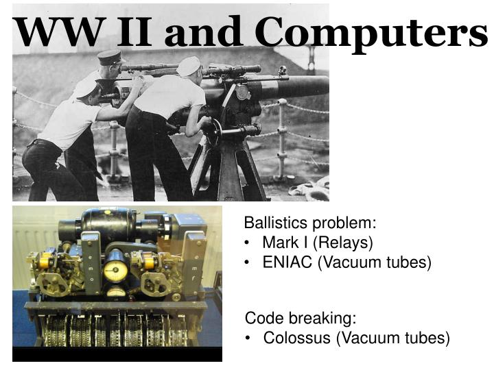 WW II and Computers