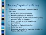 treating spiritual suffering1