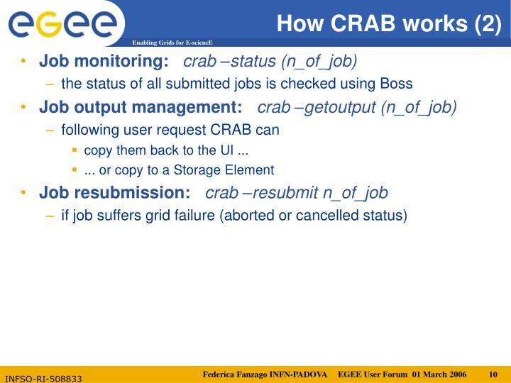 How CRAB works (2)
