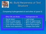 6 build awareness of text structure6