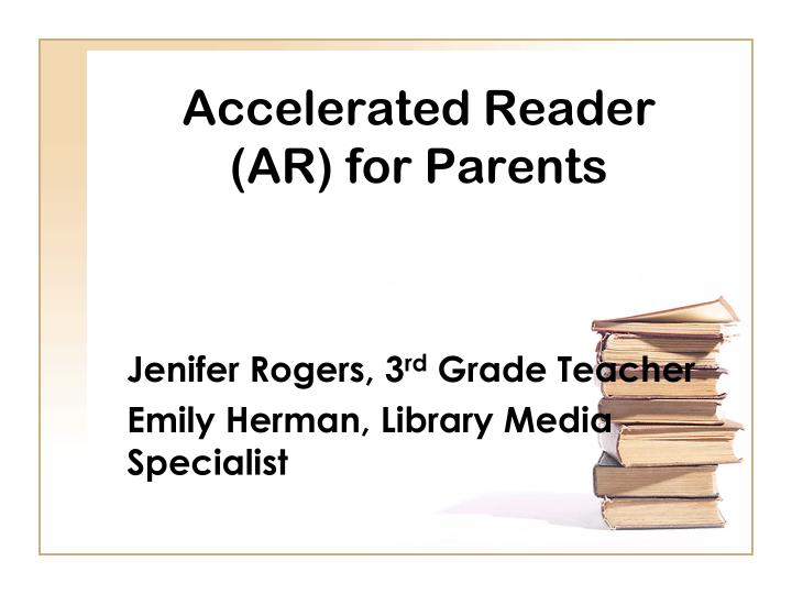 accelerated reader ar for parents n.
