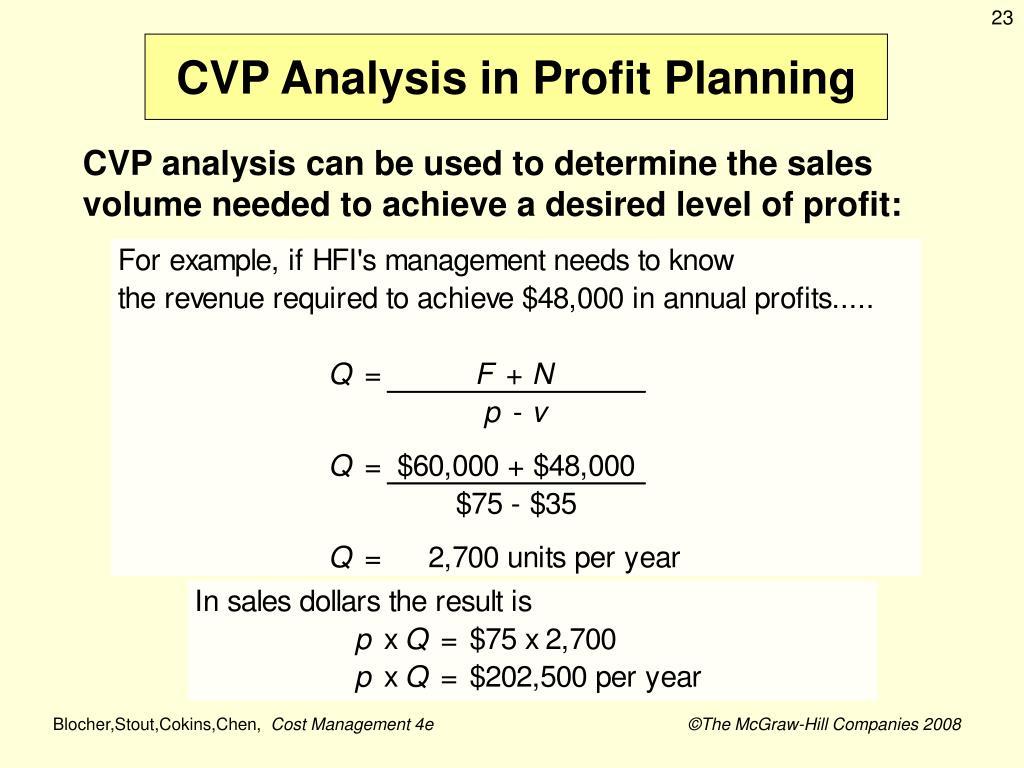 PPT - Cost-Volume-Profit Analysis PowerPoint Presentation - ID:5857021