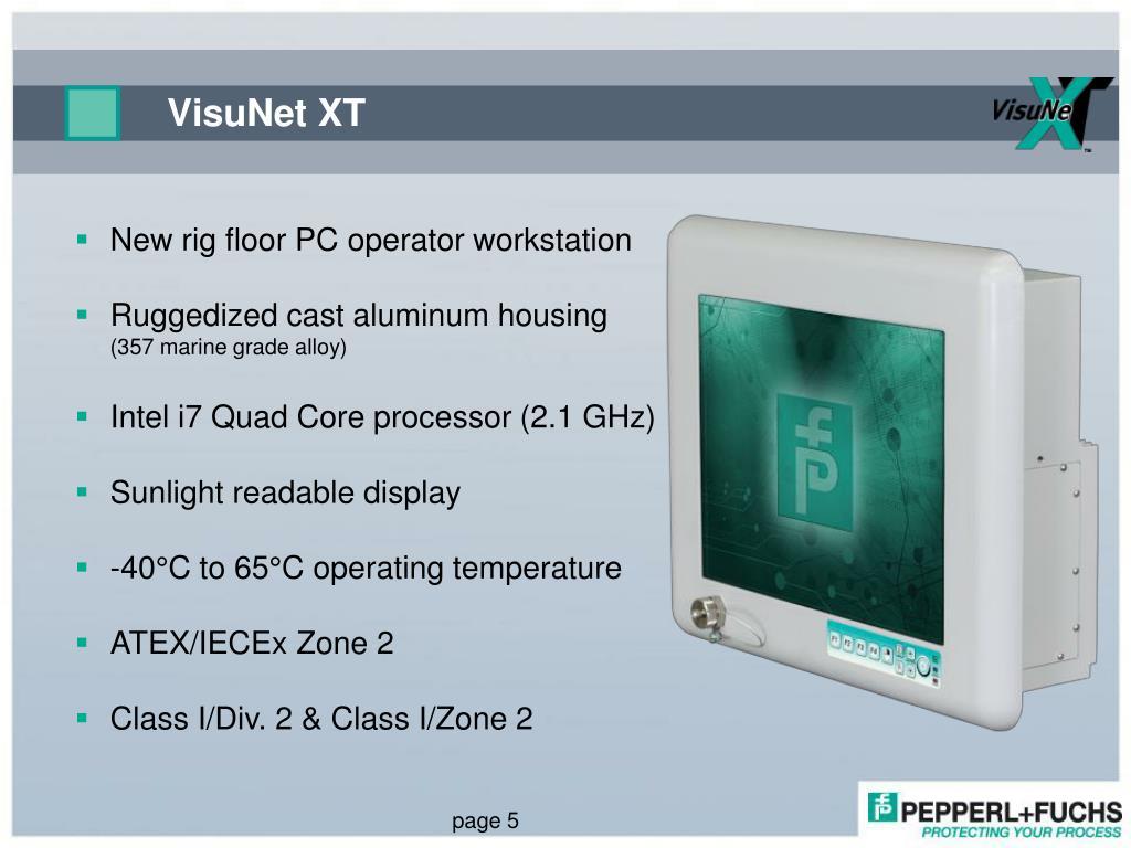 PPT - VisuNet XT eXTreme computing - PC9700 PowerPoint