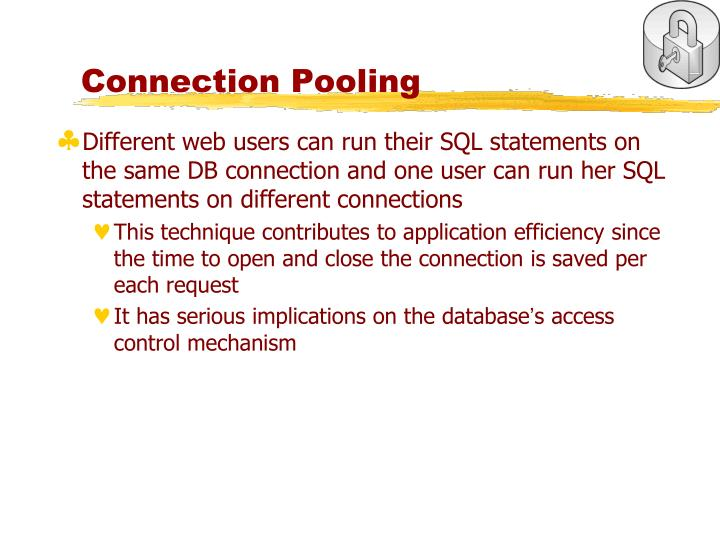 Connection Pooling