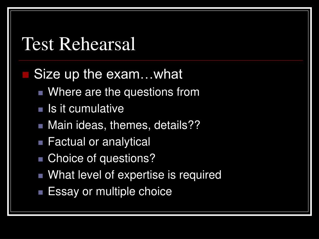 PPT - Study Guide for Final Exam PowerPoint Presentation ...