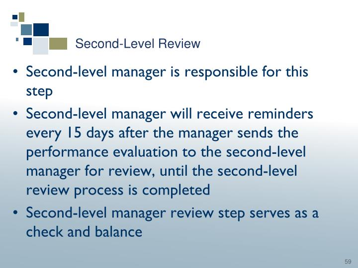Second-Level Review