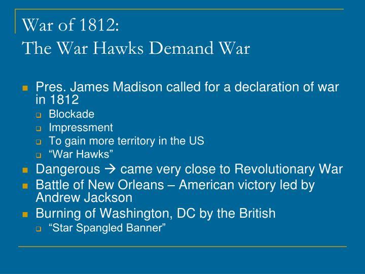War of 1812:
