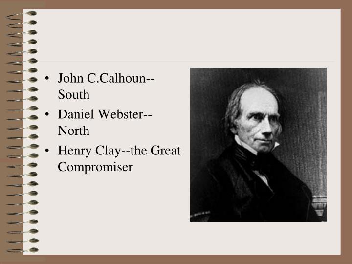 John C.Calhoun--South