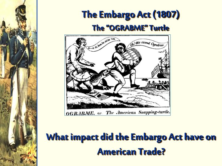 The Embargo Act (1807)