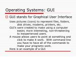 operating systems gui