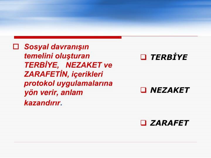TERBİYE