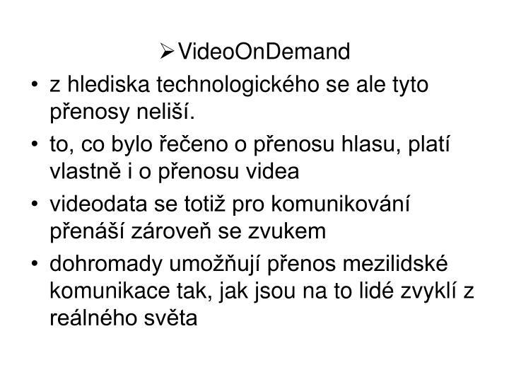 VideoOnDemand