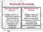 adversarial proceedings