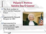 people in politics sandra day o connor