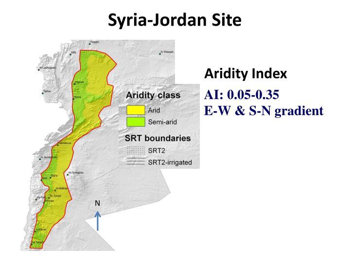Syria jordan site