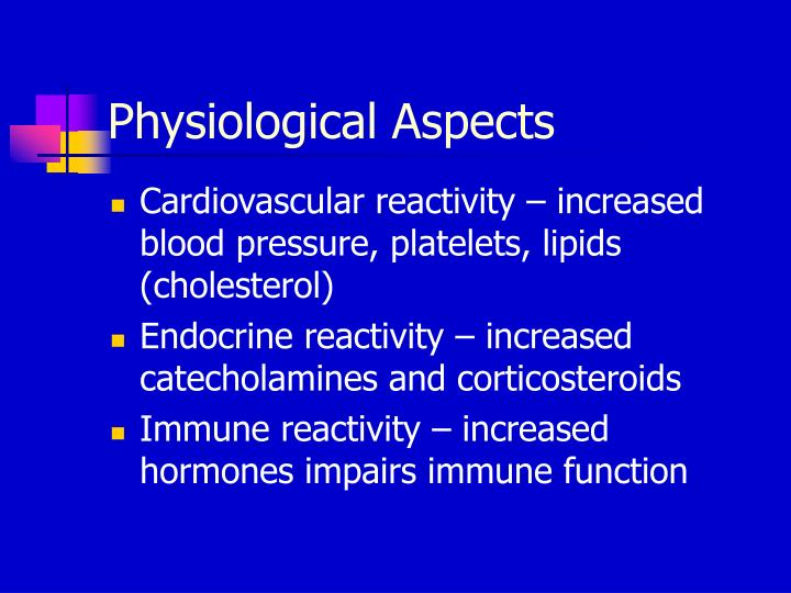 Physiological Aspects