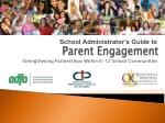 parent engagement