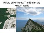 pillars of hercules the end of the known world