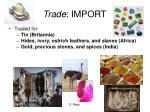 t rade import