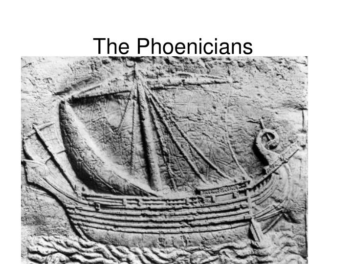 the phoenicians n.