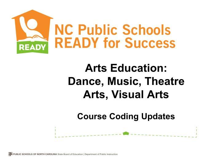 Arts Education: