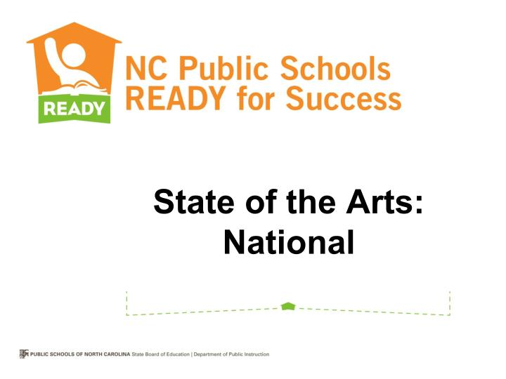 State of the Arts: