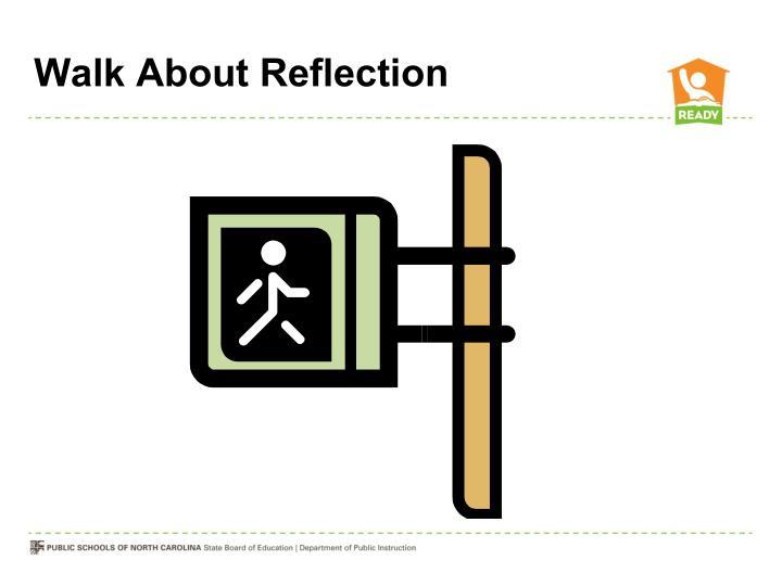 Walk About Reflection
