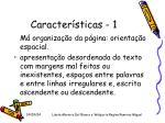caracter sticas 1