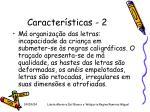 caracter sticas 2