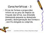 caracter sticas 3