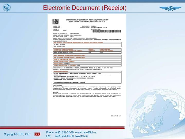 Electronic Document