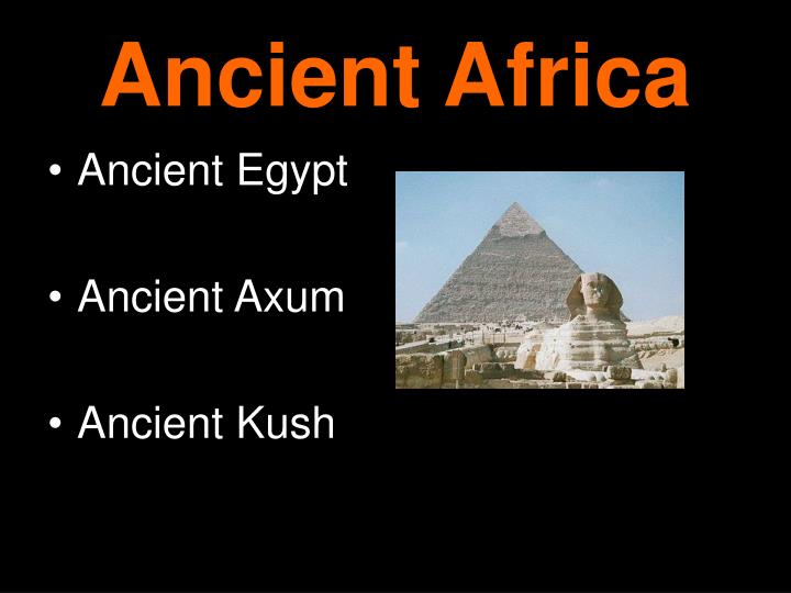 ancient africa n.