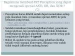 bagaimana membuat jst perceptron yang dapat mengenali operasi and or dan xor