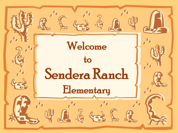 welcome to sendera ranch elementary n.