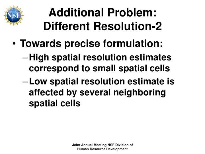 Additional Problem: