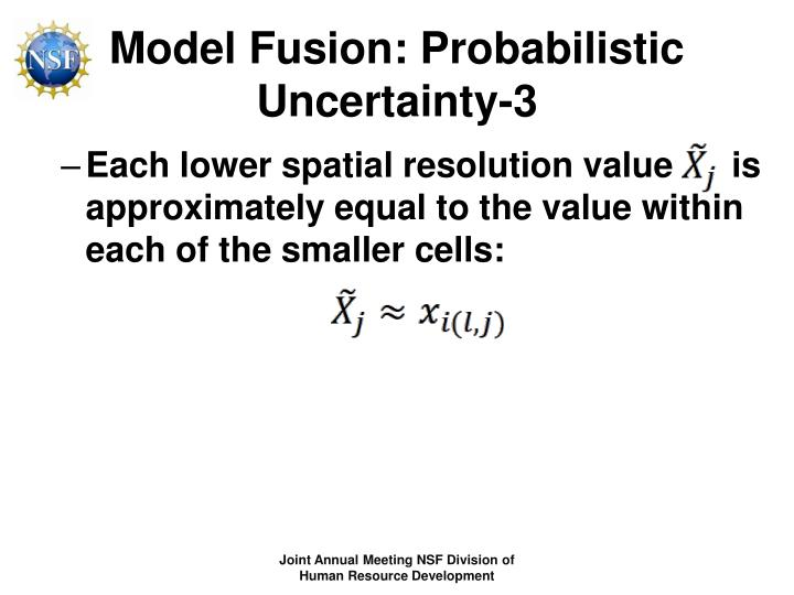 Model Fusion: Probabilistic Uncertainty-3
