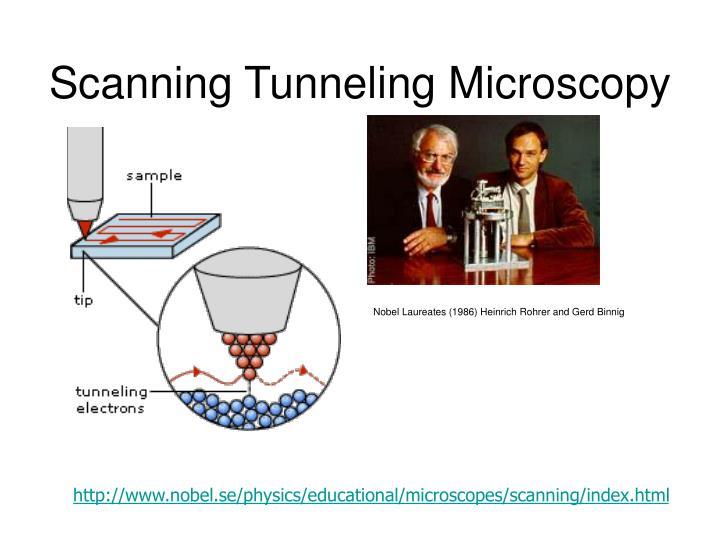 Scanning Tunneling Microscopy