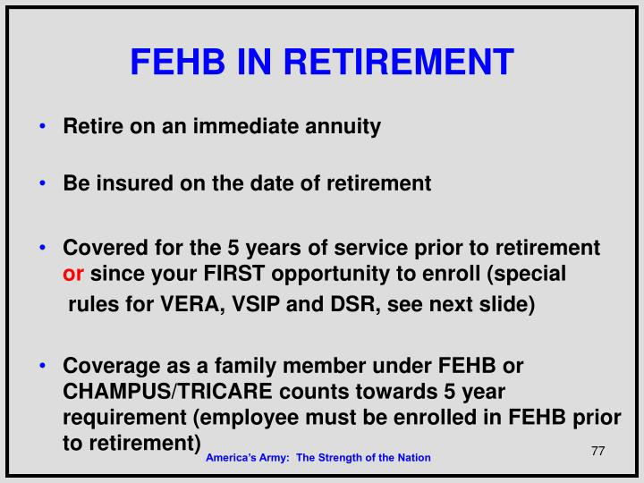 FEHB IN RETIREMENT