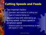 cutting speeds and feeds1
