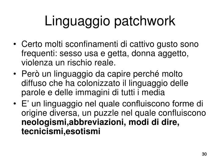 Linguaggio patchwork