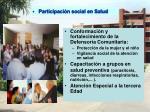 participaci n social en salud