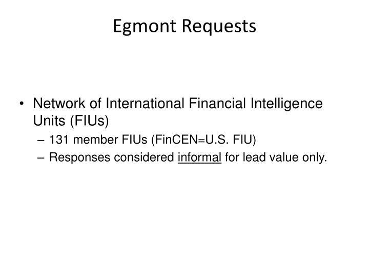 Egmont Requests
